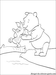 Winnie Pooh E Pimpi Disegno Da Colorare E Stampare Disegni Da