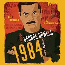 1984 audiobook by george orwell printable 1984 audiobook cover art