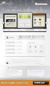 Free Photoshop Web Design Professional Layout Psd At Freepsd Cc