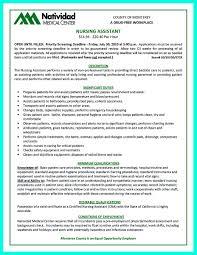 cna resume skills