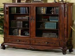 bookcases with glass doors bookshelves