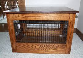 dog crates as furniture. Image Of: End Table Dog Crate Amish Crates As Furniture