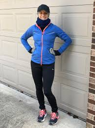 Cold Weather Running Clothing Chart Winter Running Gear What To Wear At Every Temperature