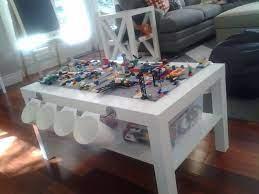 lego table diy lack coffee table lego