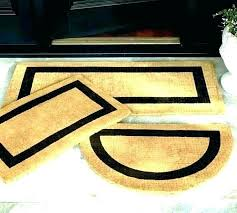 personalized outdoor mats