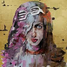 details about di capri original oil painting canvas contemporary modern art commission 03