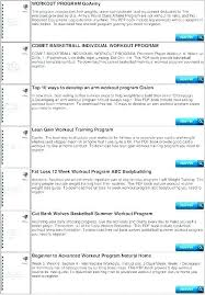 Bodybuilding Exercises Chart Free Download Pdf 65 Veracious Workouts Chart