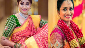South Indian Blouse Neck Design 20 South Indian Style Designer Blouse Designs For Sarees