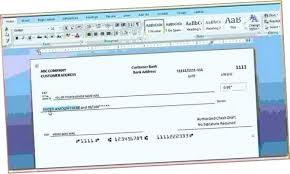Microsoft Word Check Template Check Template Word Microsoft