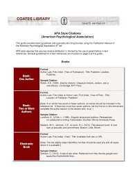 Apa Style Citations Fill Online Printable Fillable Blank Letter