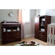 Fundy Tide 2-Drawer Royal Cherry Changing Table Brown - Rustic Baby Furniture Kids \u0026 The Home Depot
