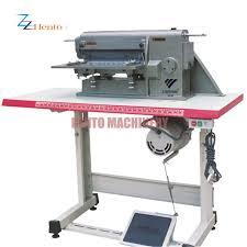 factory automatic leather splitting machine leather split machine