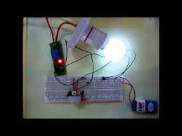 automatic room lights using pir sensor and relay circuit diagram