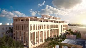 architecture building design. Rendered Exterior View Of Building Architecture Design S