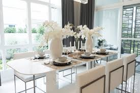 Modern dining room furniture Dark Bright Modern Dining Room With Dainty Looking Dining Table With Marble Legs interesting Home Stratosphere 101 Dining Room Decor Ideas 2019 Styles Colors And Sizes