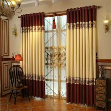 Latest Window Curtain Decorating with Cotton And Linen Materials Luxury Window  Curtains Designs
