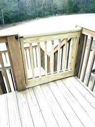 dog ramp for outdoor stairs build your own stair gate deck pet how to gates dogs