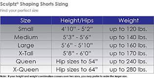 Amazon Com Sculptz Shaping Shorts Clothing