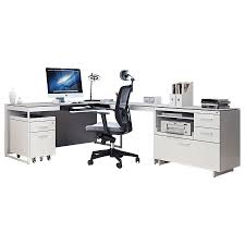 office l desk. Call To Order · BDi Centro Executive L-Desk Modern Office Set In Satin White Oak And Gray Micro L Desk C