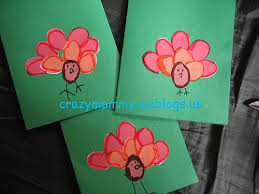 The Lazy Stay At Home Mommy Homemade Thanksgiving Cards