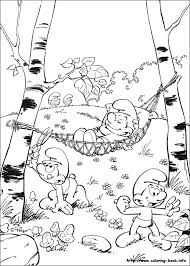The Smurfs Coloring Pages On Coloring Bookinfo