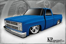 All Chevy chevy c10 body styles : Busted Knuckles - 1986 Chevy C10 - Truckin Magazine