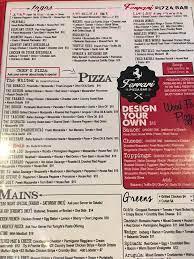 Online Menu Of Ferrari Pizza Bar Restaurant East Rochester New York 14445 Zmenu