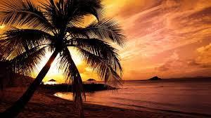Sunset Beach Wallpaper Hd 1920x1080 ...