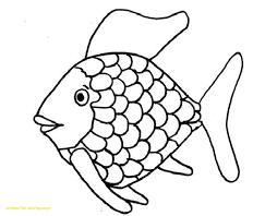printable fish coloring pages save rainbow fish coloring page with 38 fish color pages