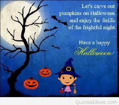 funny best kid happy halloween quotes