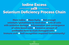 Iodine Levels In Food Chart Selenium Reduces Thyroid Antibodies Dr Izabella Wentz