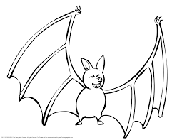 Small Picture Hanging Bat Template Coloring Coloring Pages