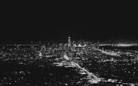 City Lights Wallpaper Black And White Wallpaper San Francisco Usa City Night Lights Black And