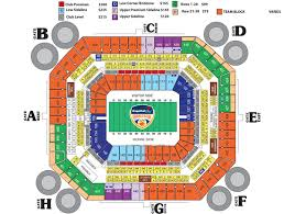 Capital One Orange Bowl Seating Chart 53 Curious Miami Orange Bowl Seating Chart