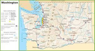 washington state maps  usa  maps of washington (wa)