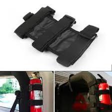 yj jeep wrangler kicker 8 inch sub and 4x6 front speakers yj fire extinguisher holder jeep wrangler tj yj jk cj bar mount black