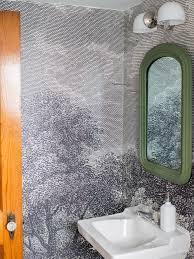 bathroom wallpaper. Installing Wallpaper In A Bathroom R