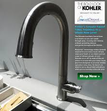 Delta Touchless Kitchen Faucet Kitchen Modern Kitchen Decor With Touchless Kitchen Faucet Idea