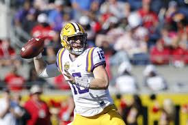 Lsu Football 2017 Quarterbacks And The Valley Shook