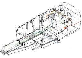 aircraft electrical my isometric diagram used to determine wire routing
