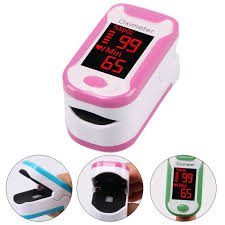 BEST QUALITY [IMPORT] <b>Digital Finger Pulse Oximeter</b> Medical ...