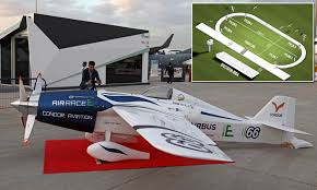 Most Fuel Efficient Light Aircraft Electric Racing Plane Unveiled In Dubai Planned For 2020