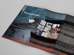 best business brochures tri fold business brochure freebie indt eps by partho paulinews