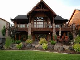 innovative ideas hillside house plans hillside home plans walkout basement lovely craftsman ranch house plans with