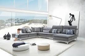 Modern sectional sofas Black David Ferrari Horizon Modern Grey Fabric Grey Leather Sectional Sofa Contemporary Furniture Warehouse Modern Sectional Sofas At Contemporary Furniture Warehouse