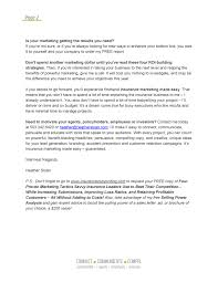 insurance s letters insurance marketers blog insurance marketing letter page 2