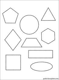 Kleurplaten Van Verschillende Geometrische Vormen Gratis Kleurplaten