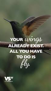Your Wings Already Exist All You Have To Do Is Fly Status