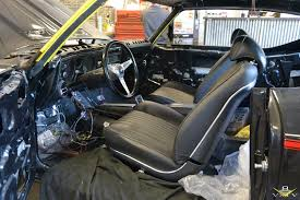 next up where the door panels dash pad carpeting and other interior details from opgi