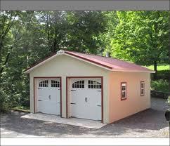 project showcase detached 2 door garage pennsylvania